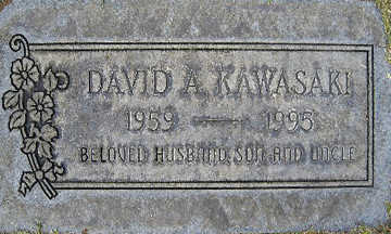 KAWASAKI, DAVID A - Mohave County, Arizona | DAVID A KAWASAKI - Arizona Gravestone Photos