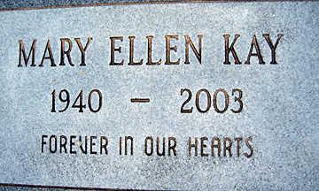 KAY, MARY ELLEN - Mohave County, Arizona | MARY ELLEN KAY - Arizona Gravestone Photos
