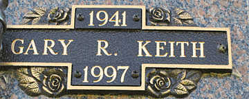 KEITH, GARY R - Mohave County, Arizona | GARY R KEITH - Arizona Gravestone Photos