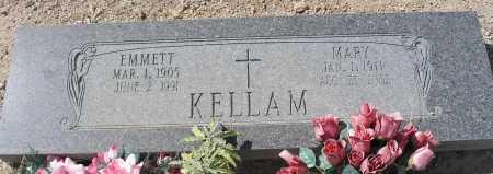 KELLAM, EMMETT - Mohave County, Arizona | EMMETT KELLAM - Arizona Gravestone Photos