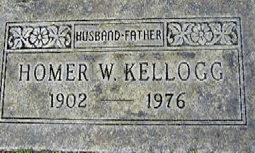 KELLOGG, HOMER W - Mohave County, Arizona   HOMER W KELLOGG - Arizona Gravestone Photos