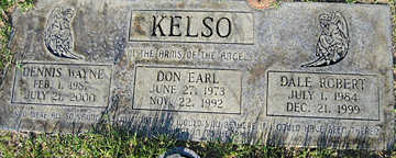 KELSO, DON EARL - Mohave County, Arizona | DON EARL KELSO - Arizona Gravestone Photos
