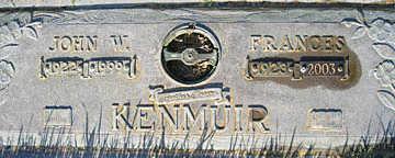KENMUIR, JOHN W - Mohave County, Arizona | JOHN W KENMUIR - Arizona Gravestone Photos