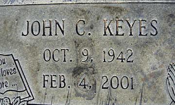 KEYES, JOHN C - Mohave County, Arizona | JOHN C KEYES - Arizona Gravestone Photos