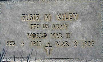 KILEY, ELSIE M - Mohave County, Arizona | ELSIE M KILEY - Arizona Gravestone Photos