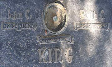 KING, JOHN C - Mohave County, Arizona | JOHN C KING - Arizona Gravestone Photos