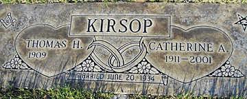 KIRSOP, THOMAS H - Mohave County, Arizona   THOMAS H KIRSOP - Arizona Gravestone Photos