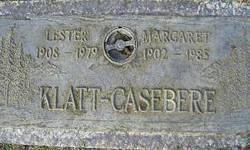 KLATT-CASEBERE, LESTER - Mohave County, Arizona   LESTER KLATT-CASEBERE - Arizona Gravestone Photos