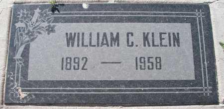 KLEIN, WILLIAM C. - Mohave County, Arizona | WILLIAM C. KLEIN - Arizona Gravestone Photos