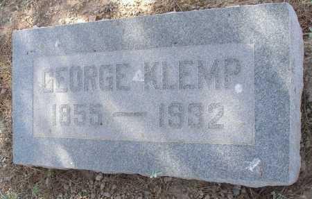 KLEMP, GEORGE - Mohave County, Arizona | GEORGE KLEMP - Arizona Gravestone Photos