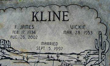 KLINE, VICKI - Mohave County, Arizona | VICKI KLINE - Arizona Gravestone Photos