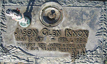 KNOX, JASON GLEN - Mohave County, Arizona | JASON GLEN KNOX - Arizona Gravestone Photos