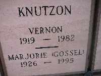 KNUTZON, VERNON - Mohave County, Arizona | VERNON KNUTZON - Arizona Gravestone Photos