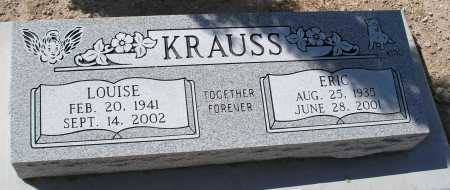 KRAUSS, ERIC - Mohave County, Arizona | ERIC KRAUSS - Arizona Gravestone Photos
