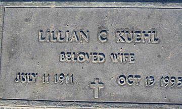 KUEHL, LILLIAN C - Mohave County, Arizona | LILLIAN C KUEHL - Arizona Gravestone Photos