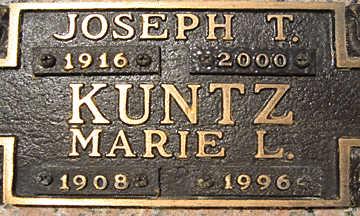 KUNTZ, MARIE L - Mohave County, Arizona   MARIE L KUNTZ - Arizona Gravestone Photos