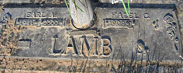 LAMB, HAZEL C - Mohave County, Arizona | HAZEL C LAMB - Arizona Gravestone Photos