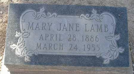JOHNSON LAMB, MARY JANE - Mohave County, Arizona | MARY JANE JOHNSON LAMB - Arizona Gravestone Photos