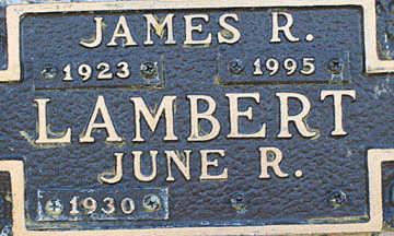 LAMBERT, JUNE R - Mohave County, Arizona | JUNE R LAMBERT - Arizona Gravestone Photos