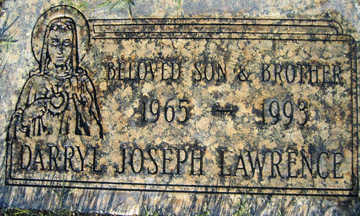 LAWRENCE, DARRYL JOSEPH - Mohave County, Arizona | DARRYL JOSEPH LAWRENCE - Arizona Gravestone Photos
