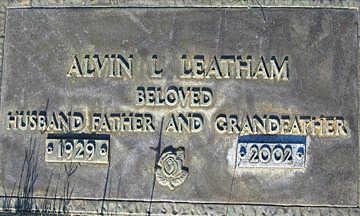 LEATHAM, ALVIN L - Mohave County, Arizona | ALVIN L LEATHAM - Arizona Gravestone Photos