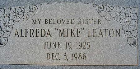 LEATON, ALFREDA - Mohave County, Arizona   ALFREDA LEATON - Arizona Gravestone Photos