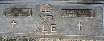 LEE, IRA M - Mohave County, Arizona | IRA M LEE - Arizona Gravestone Photos