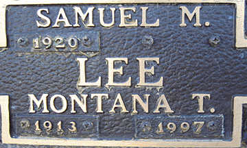 LEE, SAMUEL M - Mohave County, Arizona | SAMUEL M LEE - Arizona Gravestone Photos