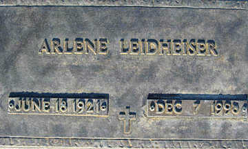 LEIDHEISER, ARLENE - Mohave County, Arizona | ARLENE LEIDHEISER - Arizona Gravestone Photos