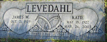 LEVEDAHL, KATIE - Mohave County, Arizona | KATIE LEVEDAHL - Arizona Gravestone Photos
