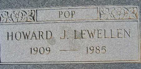LEWELLEN, HOWARD - Mohave County, Arizona | HOWARD LEWELLEN - Arizona Gravestone Photos
