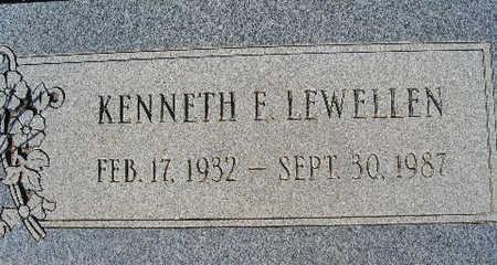 LEWELLEN, KENNETH E - Mohave County, Arizona | KENNETH E LEWELLEN - Arizona Gravestone Photos