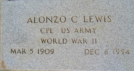 LEWIS, ALONZO C - Mohave County, Arizona | ALONZO C LEWIS - Arizona Gravestone Photos
