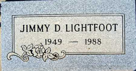 LIGHTFOOT, JIMMY D - Mohave County, Arizona | JIMMY D LIGHTFOOT - Arizona Gravestone Photos