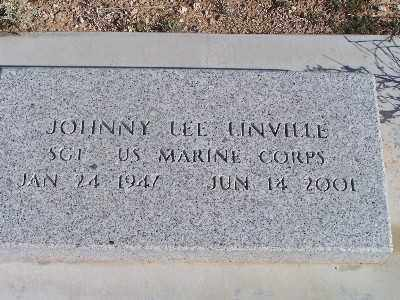 LINVILLE, JOHNNY LEE - Mohave County, Arizona | JOHNNY LEE LINVILLE - Arizona Gravestone Photos