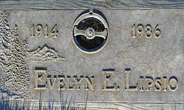 LIPSIO, EVELYN E - Mohave County, Arizona | EVELYN E LIPSIO - Arizona Gravestone Photos