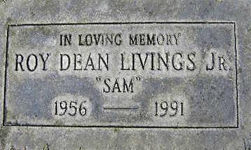 LIVINGS JR., ROY DEAN - Mohave County, Arizona   ROY DEAN LIVINGS JR. - Arizona Gravestone Photos