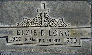 LONG, ELZIE DENNIS - Mohave County, Arizona   ELZIE DENNIS LONG - Arizona Gravestone Photos