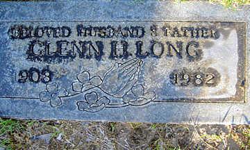 LONG, GLENN H - Mohave County, Arizona | GLENN H LONG - Arizona Gravestone Photos