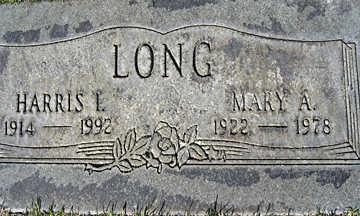 LONG, HARRIS I - Mohave County, Arizona | HARRIS I LONG - Arizona Gravestone Photos