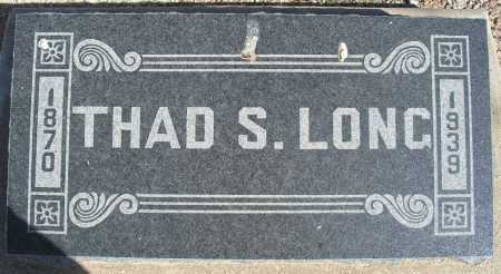 LONG, THAD S. - Mohave County, Arizona | THAD S. LONG - Arizona Gravestone Photos