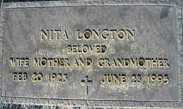 LONGTON, NITA - Mohave County, Arizona | NITA LONGTON - Arizona Gravestone Photos
