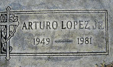 LOPEZ JR., ARTURO - Mohave County, Arizona | ARTURO LOPEZ JR. - Arizona Gravestone Photos