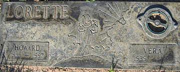 LORETTE, VERA - Mohave County, Arizona | VERA LORETTE - Arizona Gravestone Photos