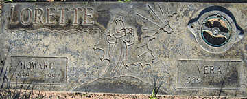 LORETTE, HOWARD - Mohave County, Arizona | HOWARD LORETTE - Arizona Gravestone Photos