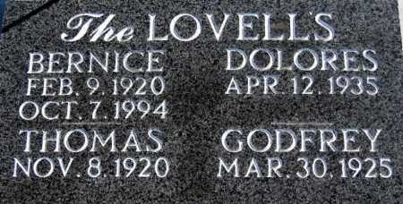 LOVELL, BERNICE - Mohave County, Arizona | BERNICE LOVELL - Arizona Gravestone Photos