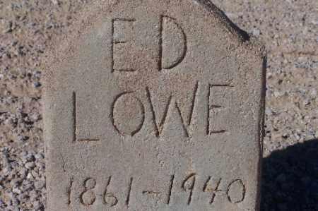 LOWE, ED. - Mohave County, Arizona | ED. LOWE - Arizona Gravestone Photos