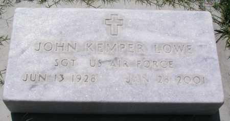 LOWE, JOHN KEMPER - Mohave County, Arizona | JOHN KEMPER LOWE - Arizona Gravestone Photos