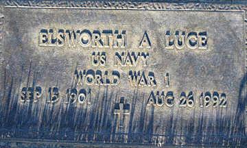 LUCE, ELSWORTH A - Mohave County, Arizona | ELSWORTH A LUCE - Arizona Gravestone Photos