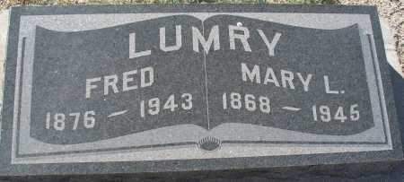 LUMRY, MARY L. - Mohave County, Arizona | MARY L. LUMRY - Arizona Gravestone Photos